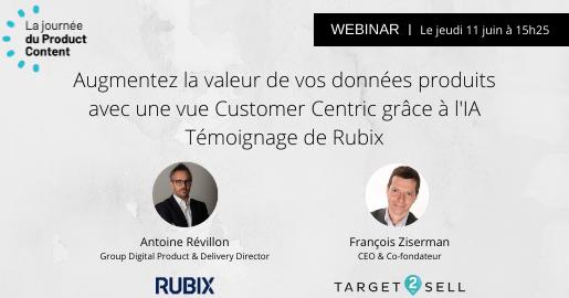 Webinar Target2Sell et Rubix